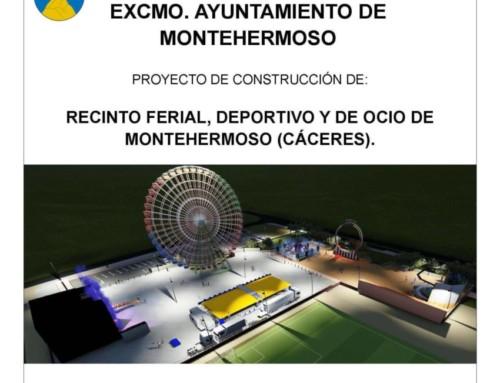 """Licitación Obras del """"Recinto Ferial, Deportivo y de Ocio de Montehermoso"""""""