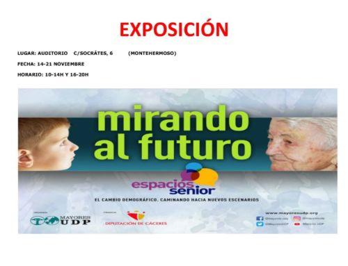 """EXPOSICIÓN """" MIRANDO AL FUTURO"""""""