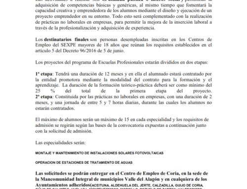 Escuelas Profesionales 2019-2020